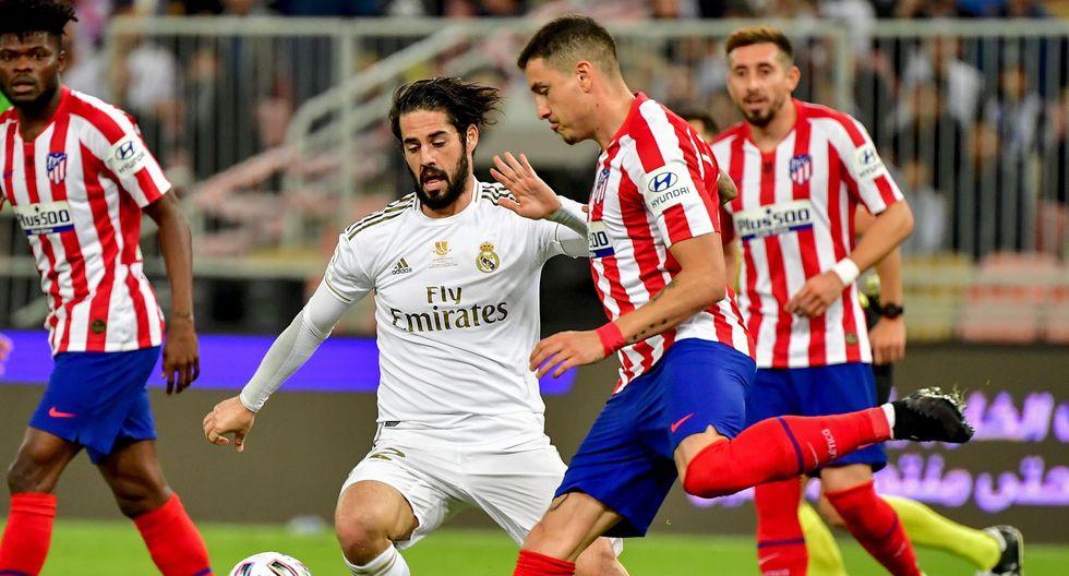 Real Madrid Vs Atletico De Madrid Resumen Ver Goles Incidencias