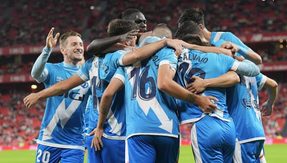 Rayo Vallecano venció por 2-1 al Athletic Club por LaLiga con gol de Radamel Falcao. (Foto: Rayo Vallecano)