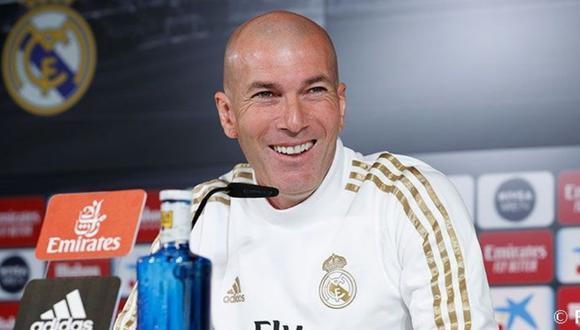 Zinedine Zidane restó importancia al conflicto entre Benzema y Vinicius. (Foto: Real Madrid)