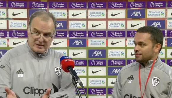 Marcelo Bielsa y Andrés Clavijo fueron sensación esta temporada en la Premier League. (Foto: Agencias)