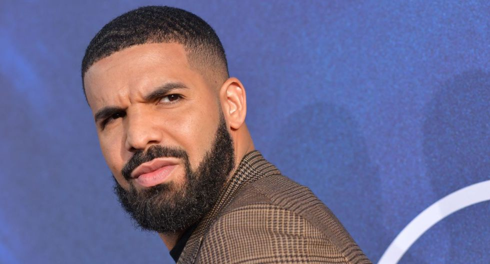 """Executive Producer US rapper Drake attends the Los Angeles premiere of the new HBO series """"Euphoria"""" at the Cinerama Dome Theatre in Hollywood on June 4, 2019. (Photo by Chris Delmas / AFP)"""