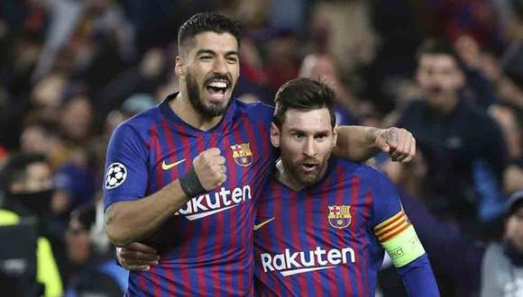 Luis Suárez y Lionel Messi jugaron juntos en el Barcelona por seis años.
