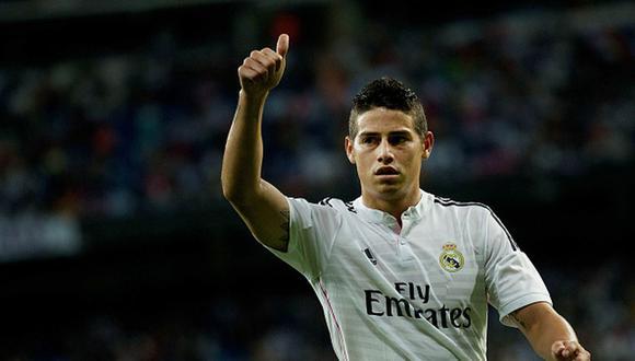 James Rodríguez tiene contrato con el Everton hasta mediados de 2022. (Getty)
