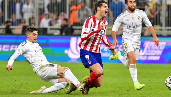Real Madrid se impuso 4-1 en los penales al Atlético de Madrid luego de igualar 0-0. (Foto: AFP)