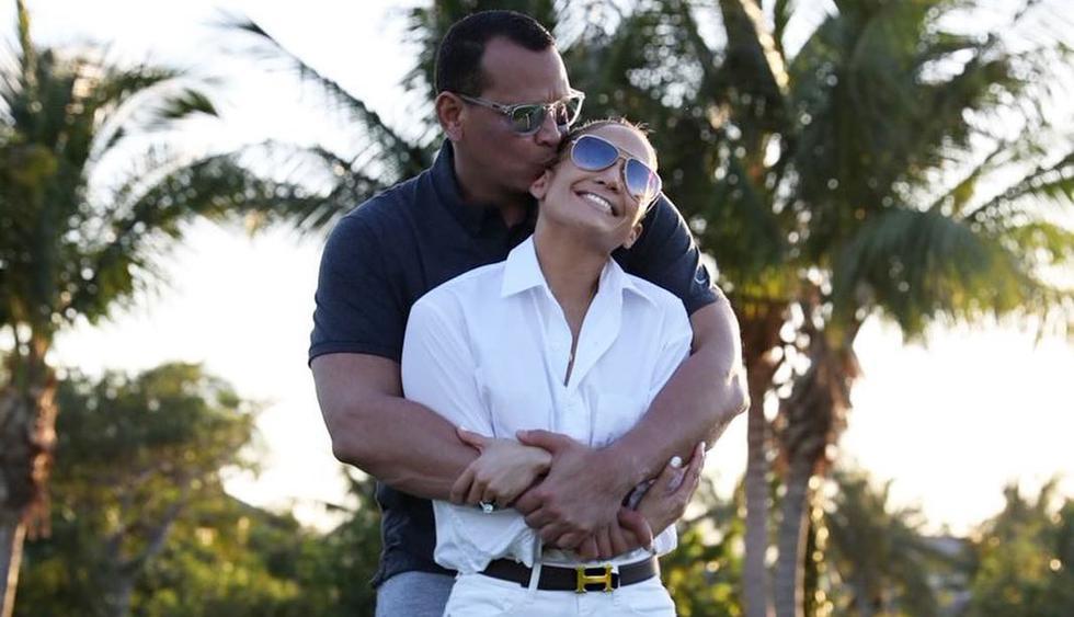 Jennifer Lopez habla por primera vez sobre la supuesta infidelidad de Alex Rodriguez (Foto: @arod)