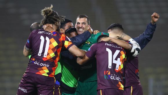 Santa Rosa se clasificó a los octavos de final de la Copa Bicentenario. (Foto: Liga 1)