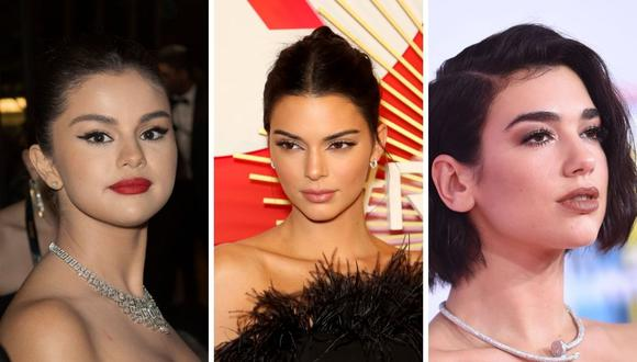 Selena Gomez, Kendall Jenner y Dua Lipa lamentaron la pérdida de la valiosa jurista Ruth Bader Ginsburg. (Foto: Esteban Ramírez   Getty   Joan Casablancas y Peter Cubirshell  AFP )