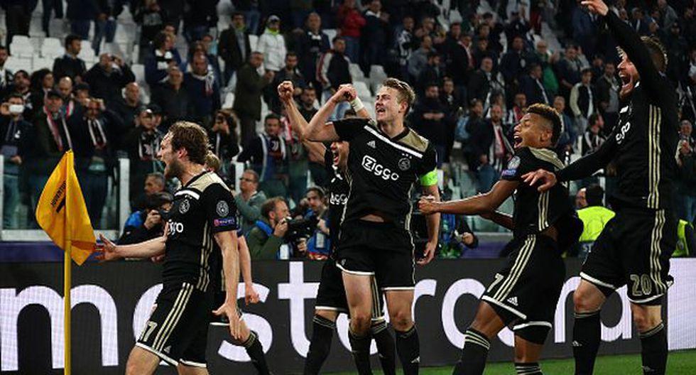 Ajax jugará con el Tottenham en las semifinales de Champions. (Foto: Getty)