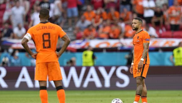 Países Bajos cayó ante República Checa en Budapest por la Eurocopa. (Foto: REUTERS)