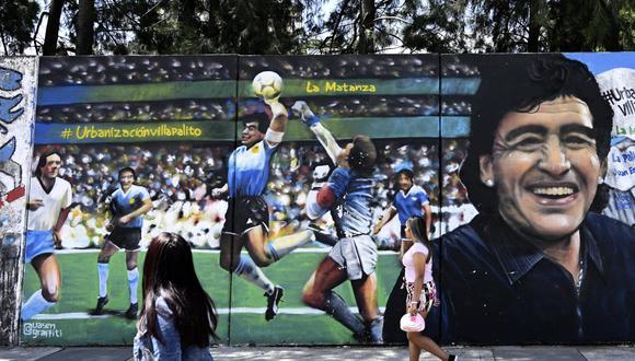 Valdano asistió a Maradona en la polémica 'Mano de Dios'. (Foto: AFP)