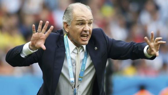 Alejandro Sabella llevó a Argentina a la final del Mundial Brasil 2014. (Foto: Reuters)