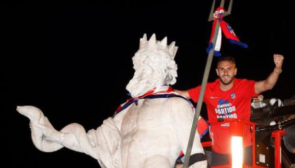 Koke fue parte del plantel del Atlético de Madrid que se coronó como campeón de LaLiga Santander 2021. (Foto: Instagram)