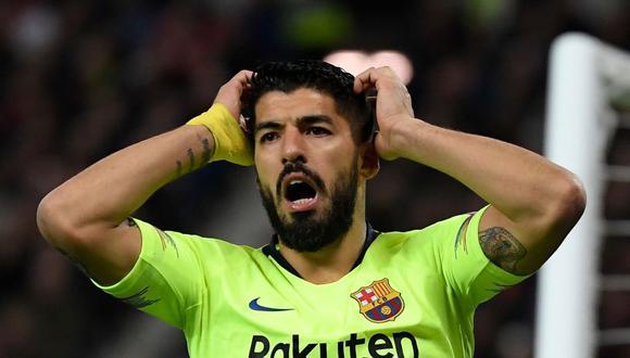 Luis Suárez juega en el FC Barcelona desde el verano de 2014. (AFP)