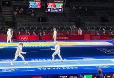 Tokio 2020: María Luisa Doig perdió en su debut en Esgrima en los Juegos Olímpicos