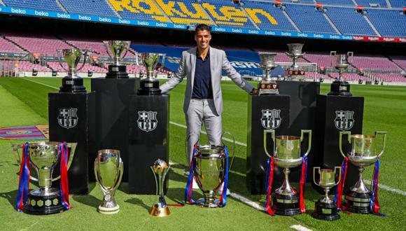 Luis Suárez jugó por seis temporadas en el FC Barcelona. (FC Barcelona)