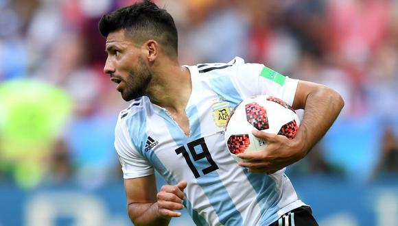Por las variantes que viene haciendo Scaloni, el Kun Agüero tendría minutos ante Paraguay. (Foto: AFP)
