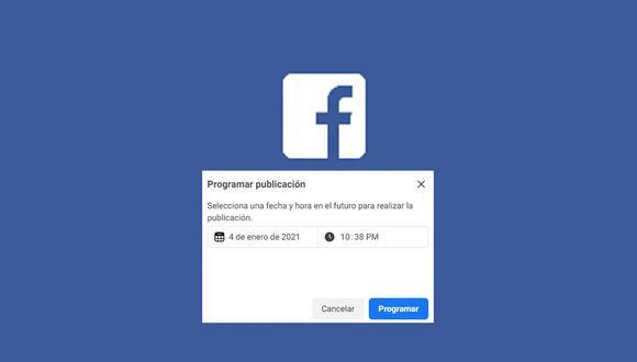 ¿Quieres programas tus mensajes o publicaciones en Facebook? Conoce cómo hacerlo. (Foto: Depor)