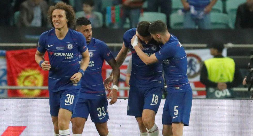Chelsea ganó de manera categórica la final de la Europa League 2019. (Fotos: Agencias)