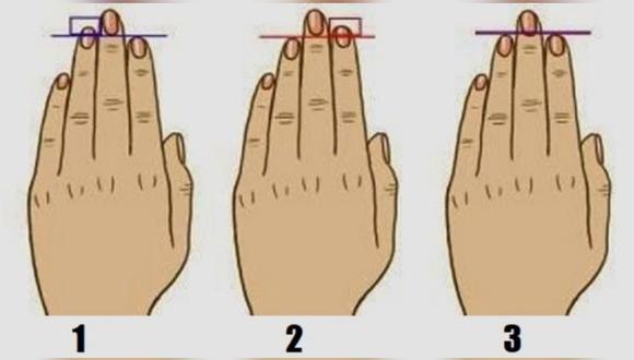Dime cómo son los dedos de tus manos y te diré aspectos que desconocías de tu personalidad. (Foto: MDZ Online)