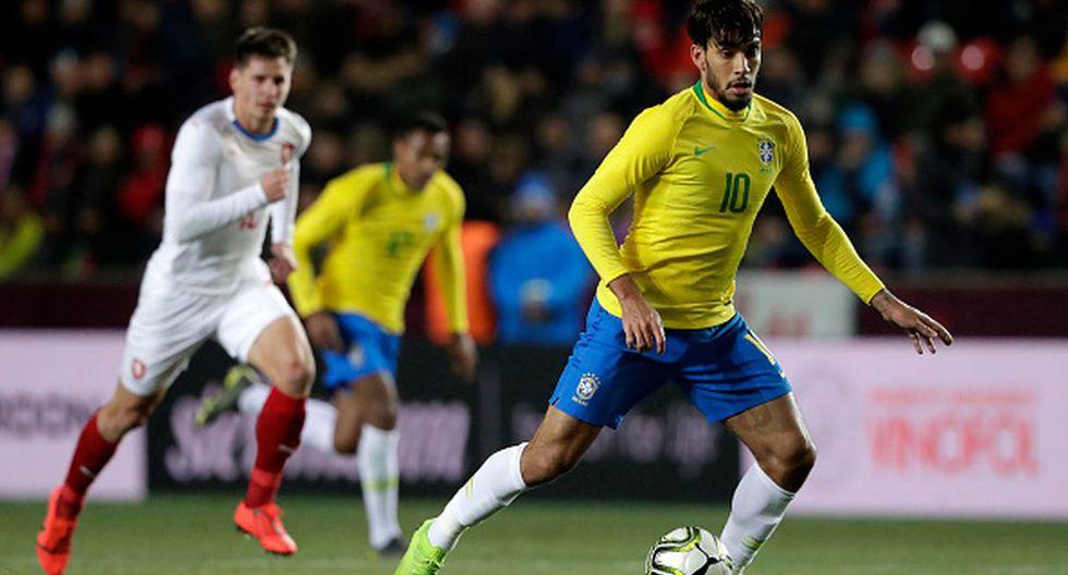 Perú vs. Brasil | Lucas Paquetá en la selección brasileña (Foto: Getty Images)
