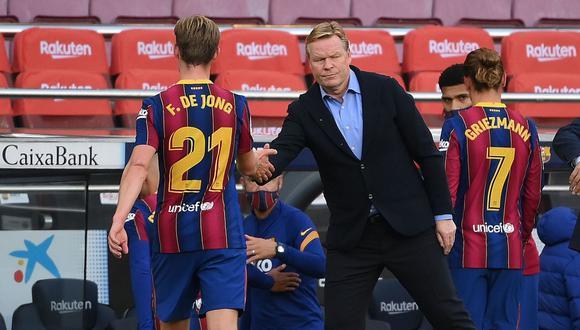 Barcelona perdió 3-1 ante Real Madrid por LaLiga Santander. (AFP)
