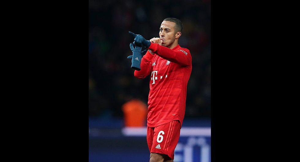 Thiago Alcántara (Bayern Múnich), en 51.8 millones de dólares. (Foto: AFP)