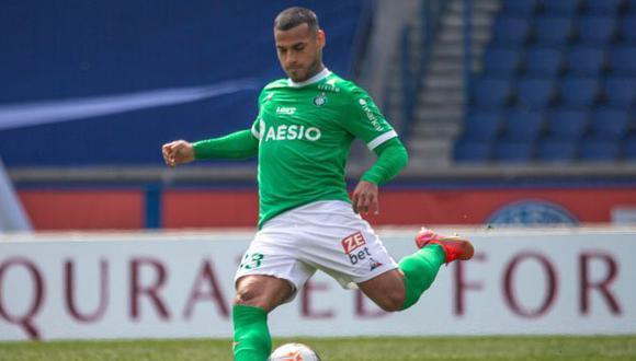 Miguel Trauco tiene contrato con Saint-Étienne hasta mediados del 2022. (Foto: Saint-Étienne)