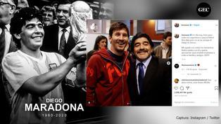 Murió Diego Maradona: Estos son los mensajes de despedida de las estrellas del fútbol mundial