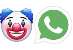 No creerás cuál es el verdadero significado de la carita de payaso de WhatsApp