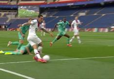 Ángel Di María se lució con una asistencia de rabona para un gol de Mauro Icardi [VIDEO]