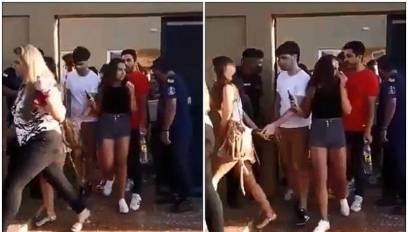 Por un video viral, un chico descubrió la infidelidad de su novia. Ocurrió en Argentina. (Foto: @LugoSofia__ / Twitter)