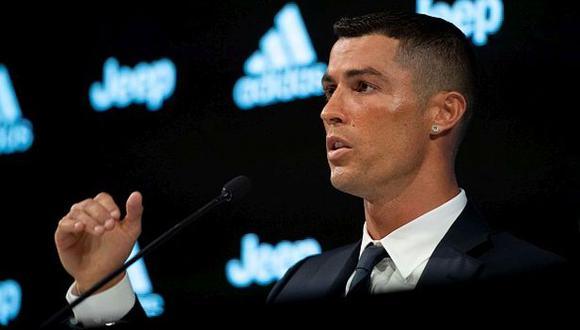 Cristiano Ronaldo firmó un contrato de cuatro años con Juventus. (Foto: Getty Images)