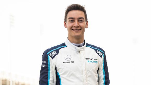 Luego de dos temporadas en la escudería Williams, George Russell pasará a Mercedes-Benz para acompañar a Lewis Hamilton tras la partida de Valtteri Bottas a Alfa Romeo. (Foto: EFE)