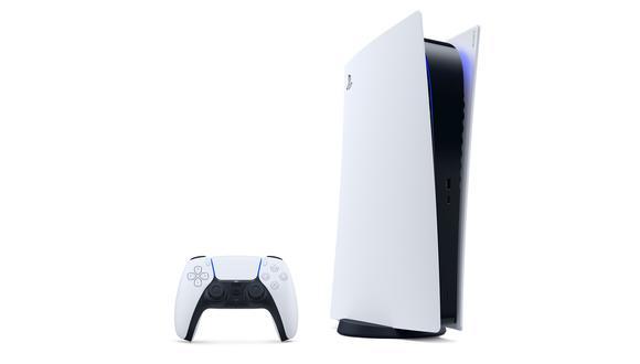 Este es el modelo sin lectora de discos de la futura PS5. (Difusión)