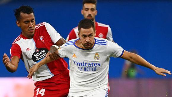 Renato Tapia fue titular ante Real Madrid y jugó solo el primer tiempo. (Foto: AFP)