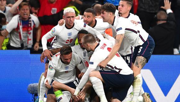 Inglaterra derrotó a Dinamarca en las semifinales de la Eurocopa. (Foto: EFE)