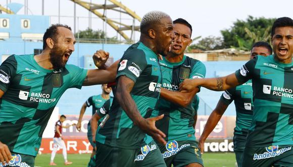 Jefferson Farfán anotó su primer gol con Alianza Lima en su regreso al club victoriano. (Foto: Liga 1)