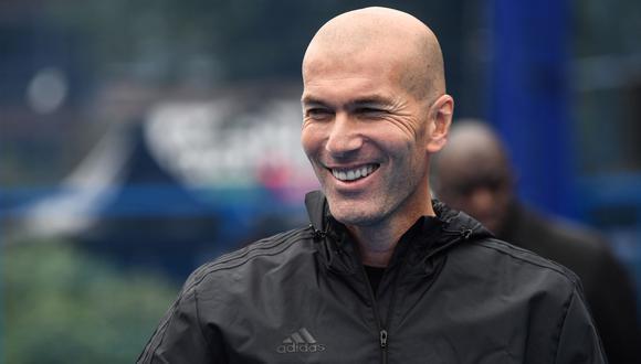 Zidane tiene contrato con Real Madrid hasta mediados de 2022.  (Foto: AFP)
