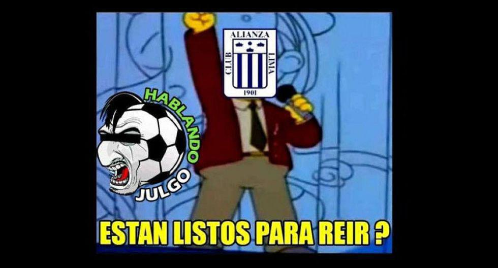Alianza Lima vs. Nacional: los mejores memes de la derrota blanquiazul (Facebook)
