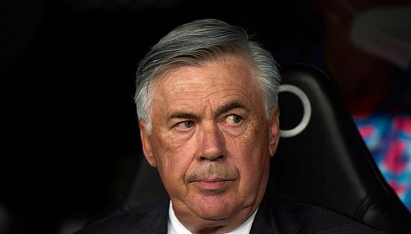 Carlo Ancelotti tiene contrato con el Real Madrid hasta 2024. (Getty)