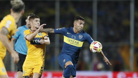 Boca Juniors venció el jueves 6-5 por penales a Rosario Central tras empatar 0-0 en los 90 minutos y se consagró campeón de la Supercopa Argentina. (Foto: Twitter de Boca Juniors)