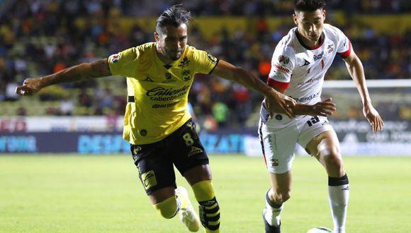 Edison Flores fue titular en Morelia, mientras que Beto da Silva salió de arranque en Lobos BUAP en el duelo que terminó 1-1 en cancha del Monarcas. (Foto: @2Futalmomento)