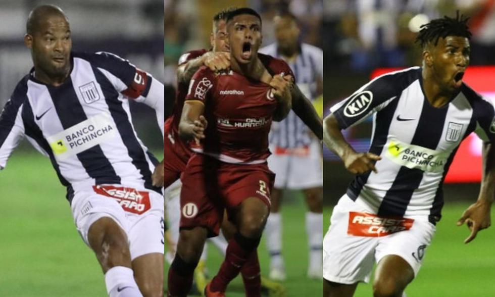 Alberto Rodríguez, Junior Morales y Carlos Ascues figuran en la lista de jugadores sin equipo para la Liga 1 2021. (Fotos: Agencias)