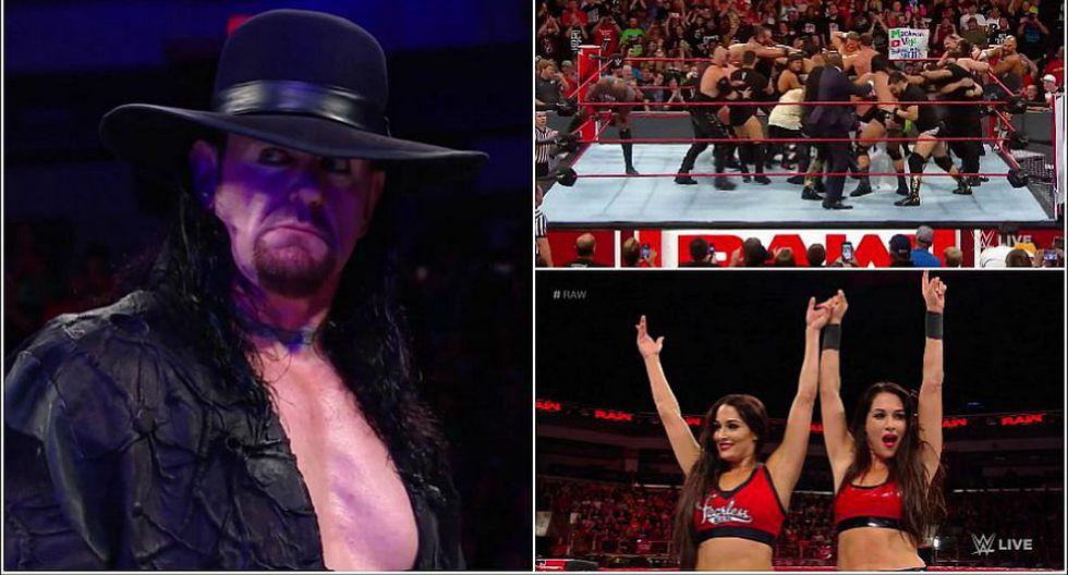 Conoce todos los resultados del Monday Night RAW disputado en Ohio. (WWE)