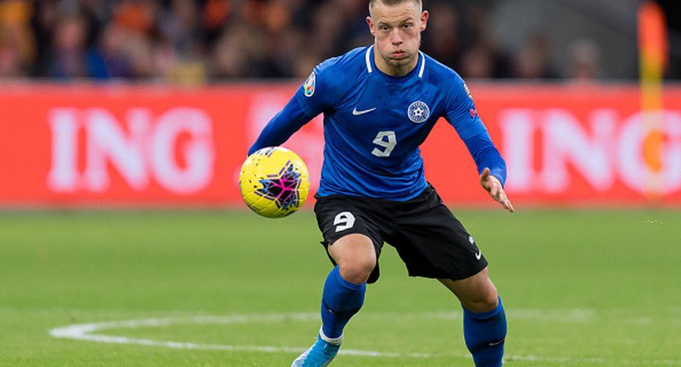 8. Erik Sorga - 35 goles en 45 partidos (Flora y Estonia) (Getty)