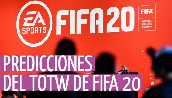 FIFA 20: las predicciones del 'Equipo de la Semana' (TOTW 24) para Ultimate Team
