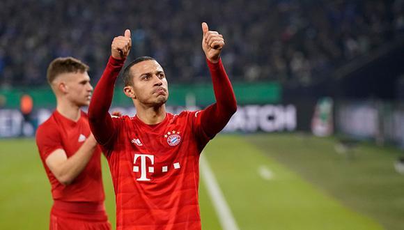 A Thiago Alcántara le faltan títulos internacionales en Bayern Munich. (Foto: Getty Images)