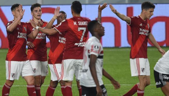 El 'Millo' avanzó a octavos de final tras vencer a Sao Paulo. (Foto: River Plate)