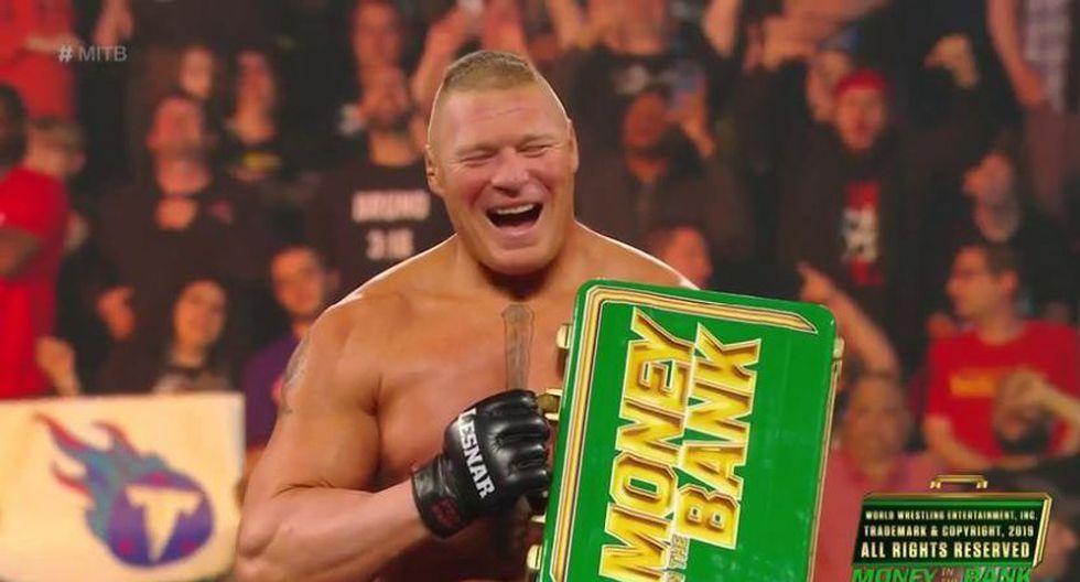 Brock Lesnar está de vuelta. (WWE)