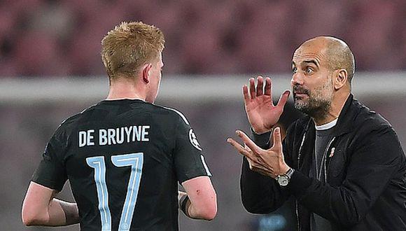 Kevin De Bruyne llegó al Manchester City en la temporada 2015/16. (Getty)